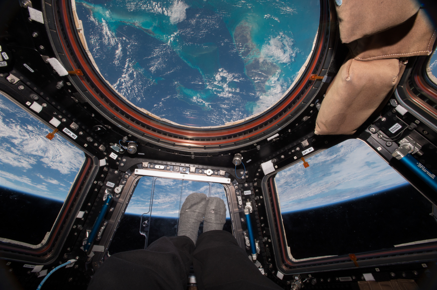 Earth from the Cupola