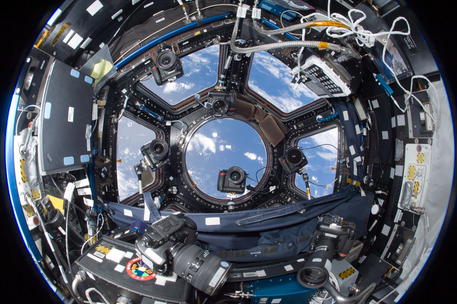 Cameras on the International Space Station Taking Photos of Earth