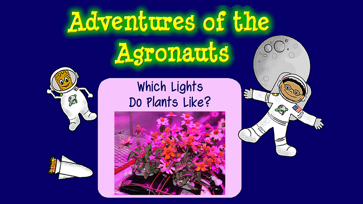 agronauts which lights plants