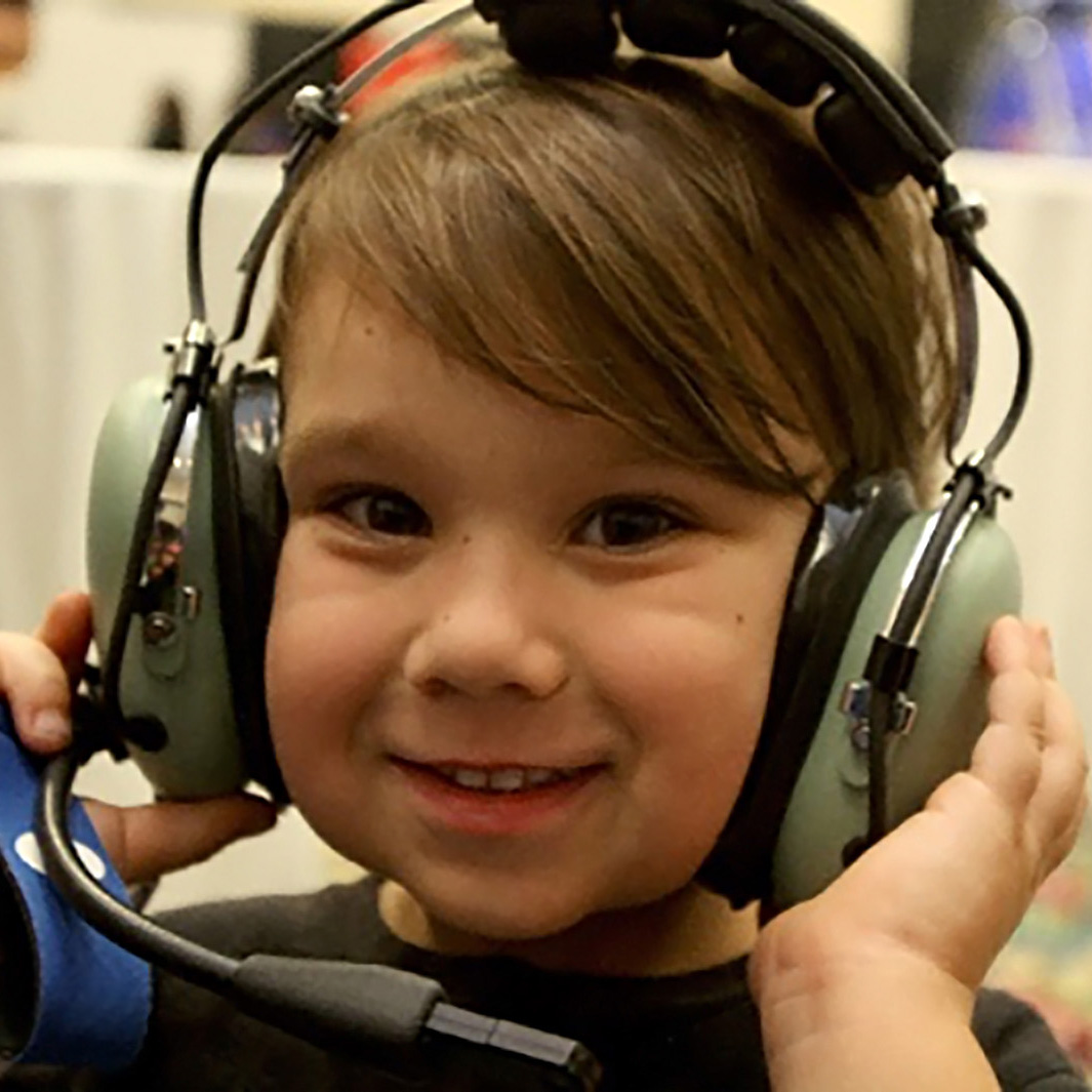 ARISS kid headphones square
