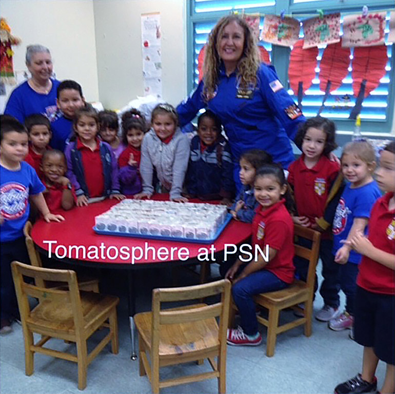Tomatosphere Palm Springs North Elementary