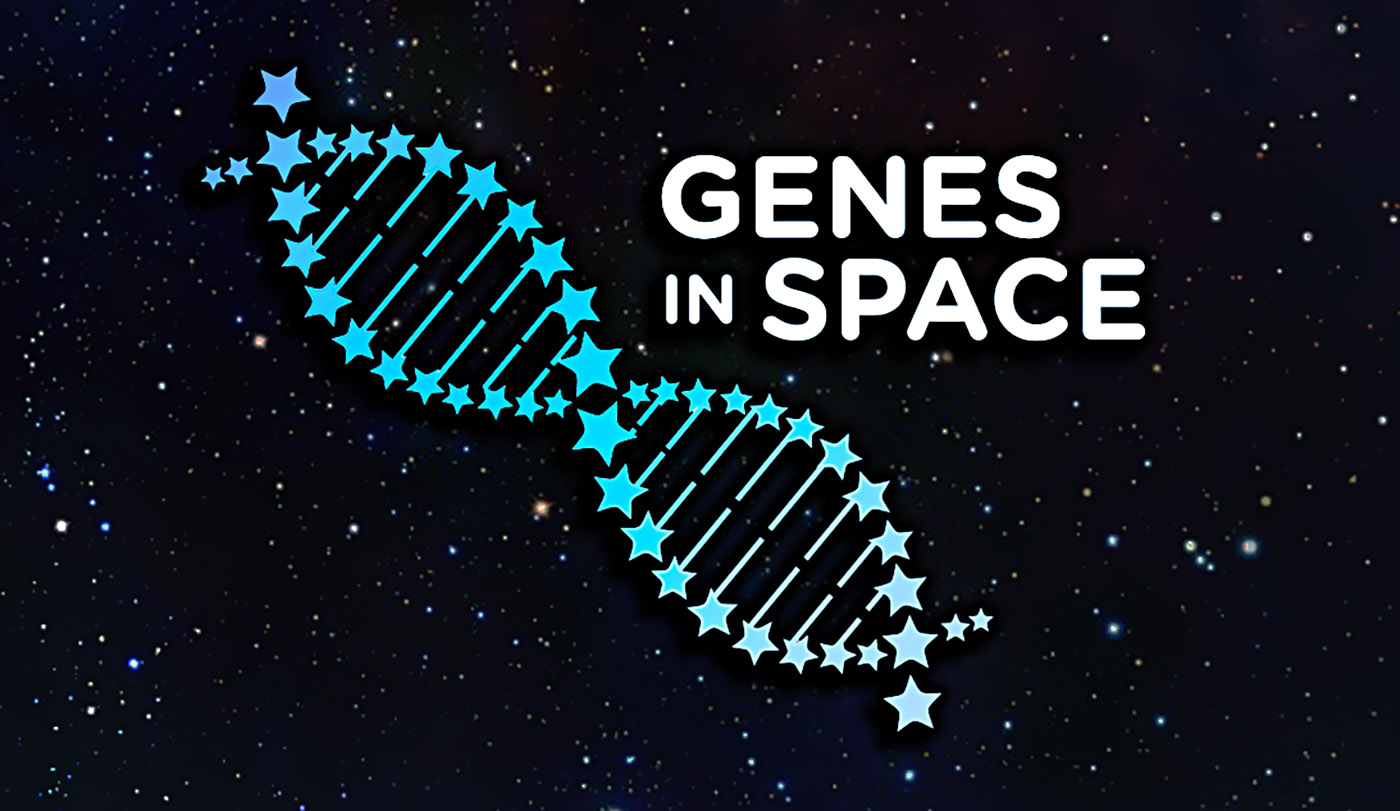 genes in space stars rectangle