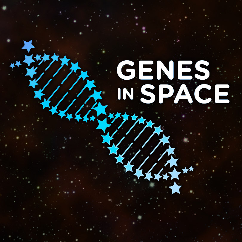 genes in space logo dark square