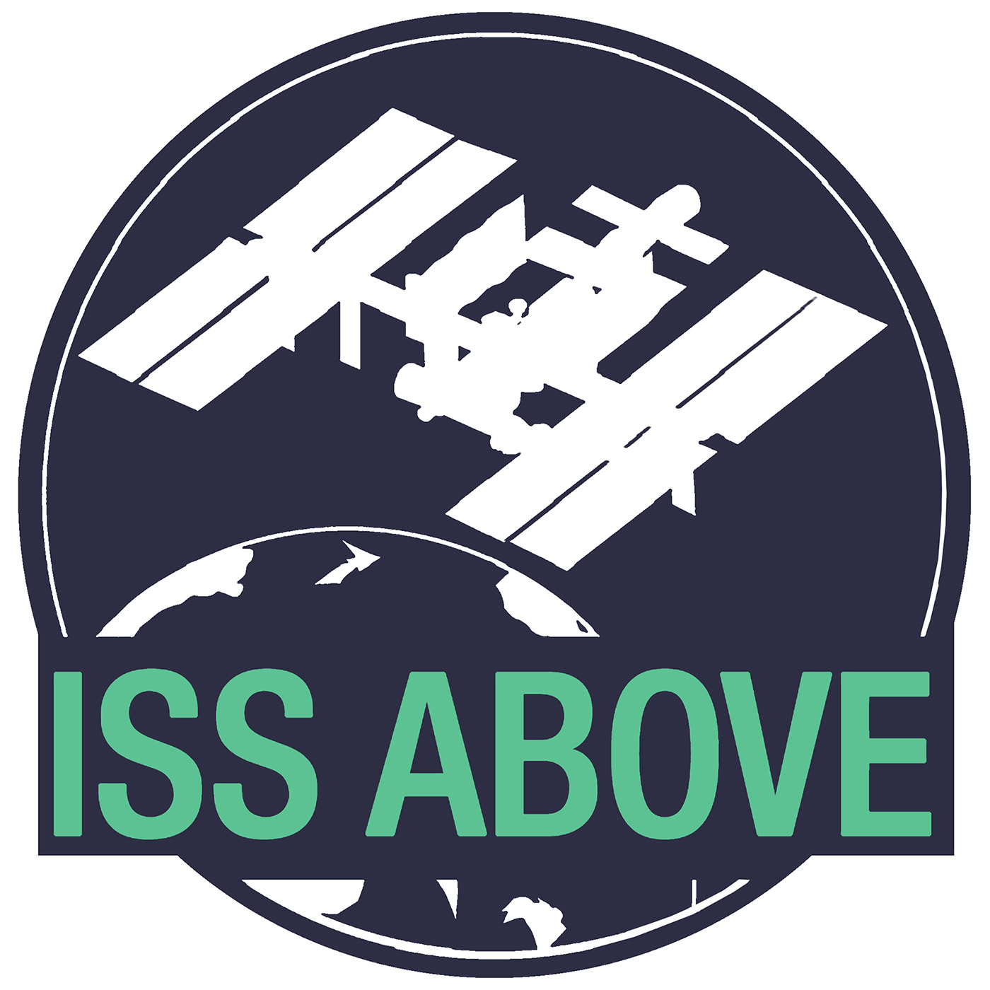 iss above logo square