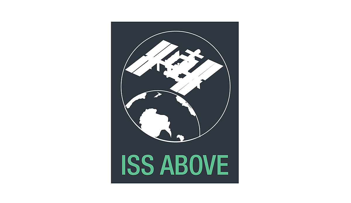iss above logo