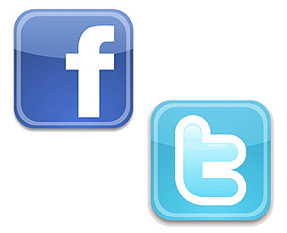 facebook twitter icon