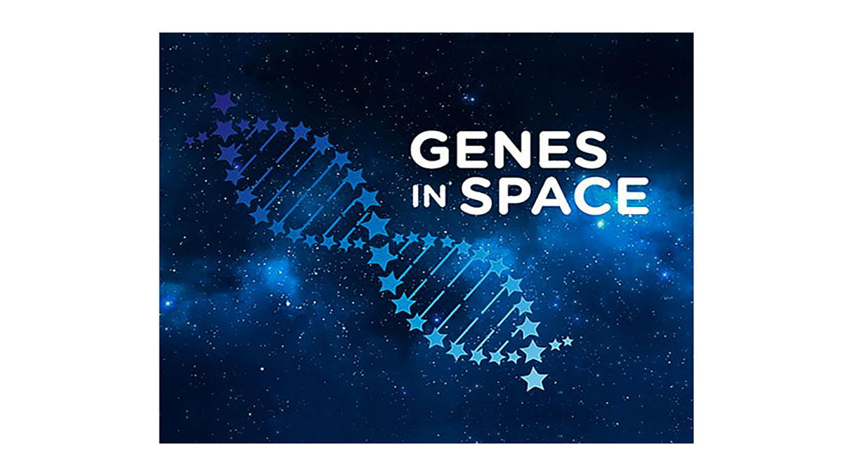 genes in space blue