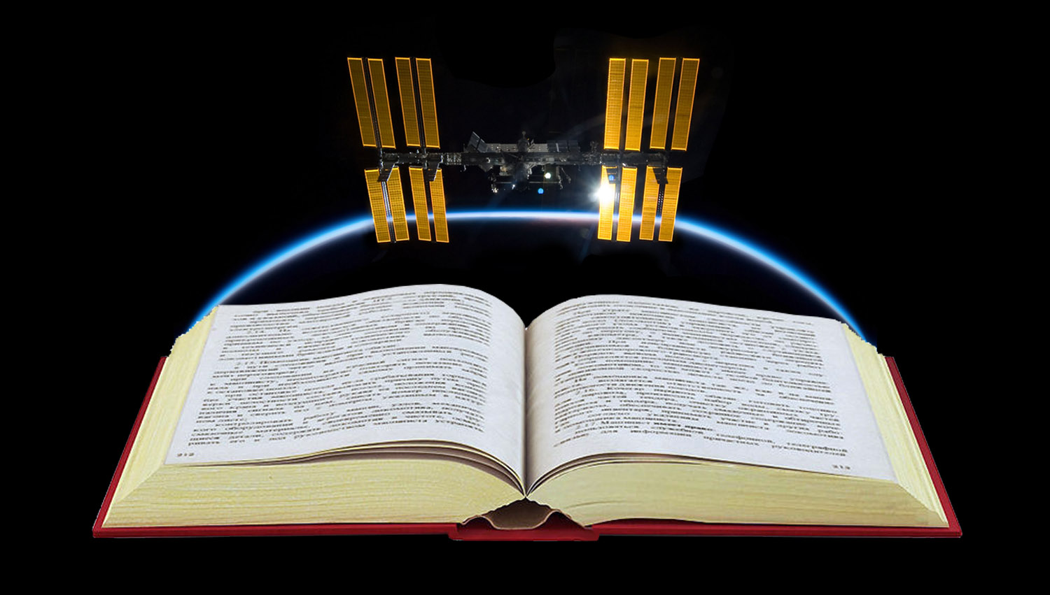 ISS in a book