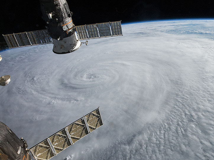 typhoon soudelor iss