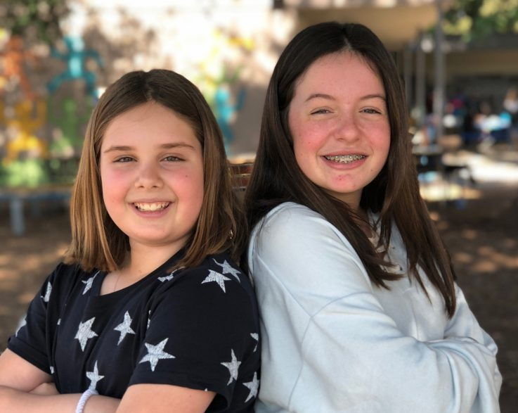 DreamUp iLEAD 2 Olivia Rothenberg and Sophie Muncy Encino 7th grade e1535125433847