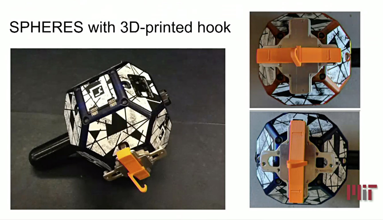 spheres with 3d printed hook