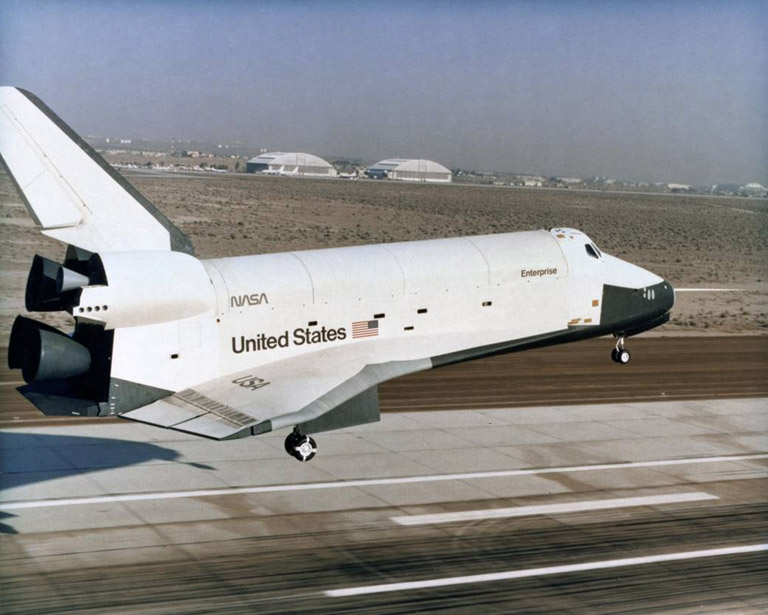 shuttle prototype enterprise oct1977
