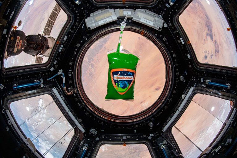 Slime in Space cupola